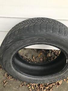 Blizzak snow tires 255/60/19