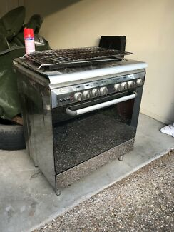Free oven with gas stove