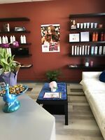 Hairstylist/massage therapy /esthetician space for rent