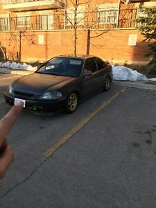 96 Boosted EK Civic Coupe