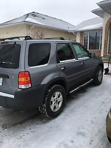 2007 Ford Escape XLT 4WD Heated leather