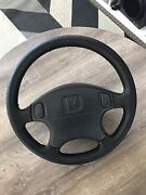 Civic EK4 Vti-R Steering wheel with airbag (black) South Fremantle Fremantle Area Preview