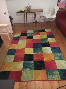 Colourful rug 239 x 160cm Wolli Creek Rockdale Area Preview