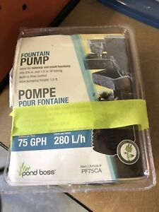 BRAND NEW Small fountain pump