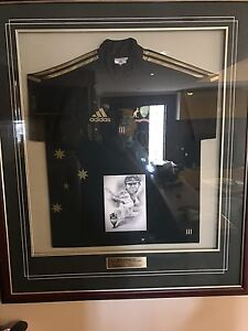 Ricky Ponting signed one day shirt framed Joondalup Joondalup Area Preview
