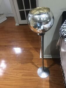 Goblet home decor piece used for home staging!