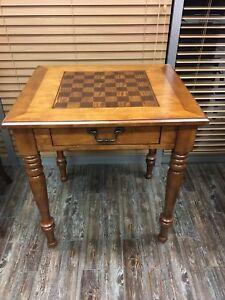 DOIT PARTIR - meuble antique backgammon/échec