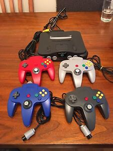 Nintendo 64 Console, Controllers + Games (Prices in description)