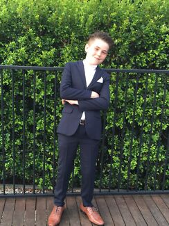 Boys formal 3 piece suit, includes waistcoat and tie