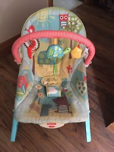 Infant to toddler vibrate/rocking chair