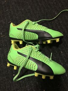 Boys/Toddler size 11 Puma cleats