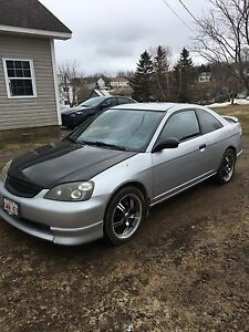 2001 Honda Civic Coupe DX FOR PARTS