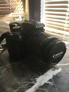 Canon EOS Rebel T3 DSLR with EF-S 18-55mm f/3.5-5.6 IS Lens