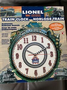 Horloge train Lionel UNIQUE