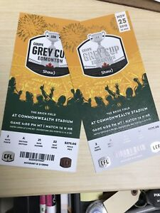 GREY CUP TICKETS 2018