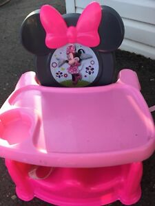 Minnie Mouse Booster Seat for sale