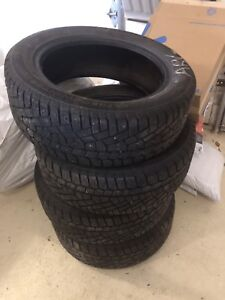 4 pneus d'hiver Continental Extreme Winter Contact 185/55/R15