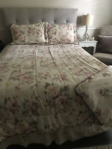 Double/queen comforter set