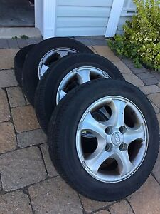 Hyundai Alloy Rims - 15""