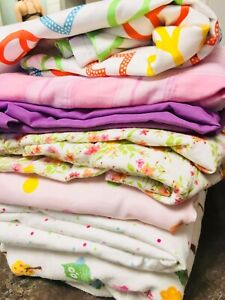 Twin FLAT sheets- 7 for $15