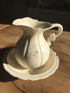 Water jug and bowl set