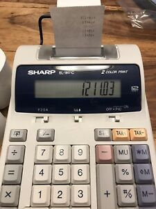 Sharpe Printing Calculator