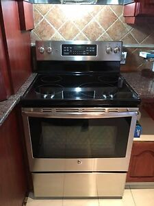 Stove and fridge 31""