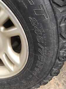 245 75 R16 tires (set of 4 winters)