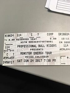 bull ridding tickets for tonight