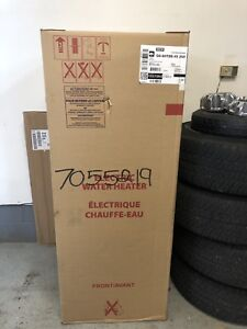 New Electric 75 gallon hot water tank
