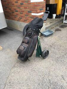 Sac de golf avec baton
