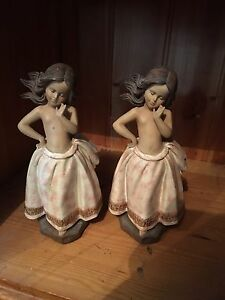 Pair of porcelain islander girls Bidwill Blacktown Area Preview