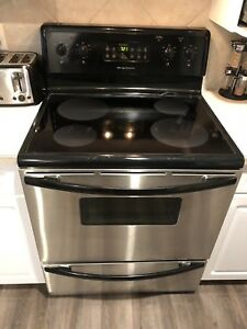 Frigidaire  fridge and stove