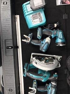Makita pack 4 outil