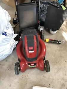 TORO E-CYCLER BATTERY OPERATED ELECTRIC LAWN MOWER