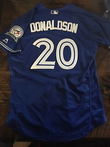New Josh Donaldson Blue Jays jerseys! New!!