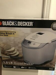 Bread maker brand new by black and decker