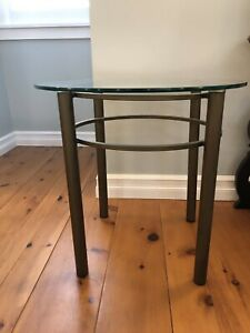Glass coffee table and end table ** price drop