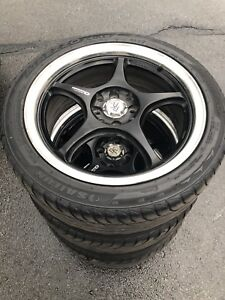 4 Beaux mags en bon condition (4X100) 17X7. P215/45R17