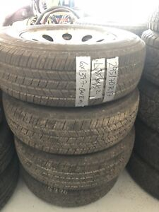 Michelin LTX tires on stock chevy rims - 245/70R17