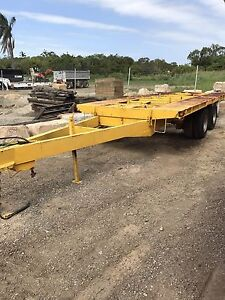 Dual axle plant trailer 16tonne Wellington Point Redland Area Preview