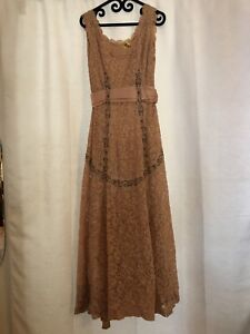 Vintage 1940s Floor Length Gown