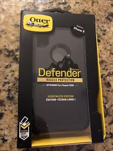 Otter Box Defender iPhone X (screenless edition)
