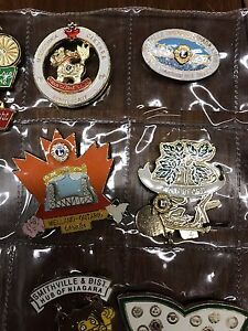Rotary Club Pin Collection