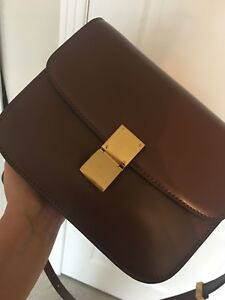 Celine crossbody bag genuine leather