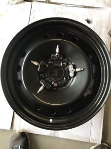 Winter rims with Nissan/infinity tpms new cond $150
