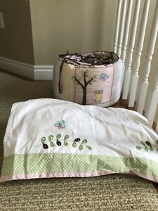 Pottery barn crib bedding