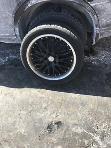 "17"" Privat Rims 5x114.3 (set of 4)"