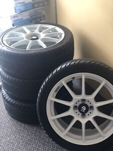 New sparco rims