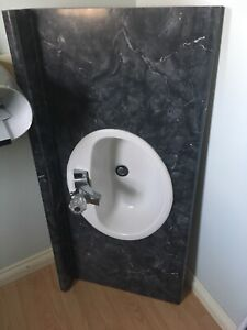 5ft counter top and faucet